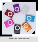 (YX-MP216)mini cheap newest clip Metal MP3 with TF interface