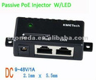 Passive POE Injector with LED Indicator New Hot Sale