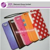 2012 wide variety of colorful leather case, portable for iphone 5 5g