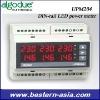 UPM204 Algodue DIN rail LED power meter