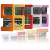 S shape digital LCD clock