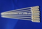 flat disposable natural bamboo skewers for BBQ with handle