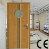 MDF house door with glass