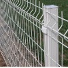 white plastic fencing mesh