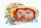 Latest Sublimation Photo Fabric Puzzle- Heart Shape-2mm thickness