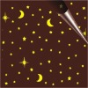 Star&Moon chocolate transfer sheet/transfer paper