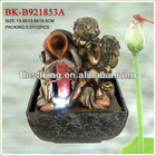 Hot sale! polyresin figurines water fountain BK-B921853A