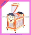 Swing baby crib 233 with cartoon design