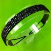 Four rows of sparkly crystal rhinestones hairband