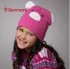 kids winter cashmere-like beanie hat
