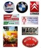 enamel metal company signs
