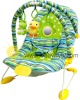 Fat Feet rocking chair with plush toys