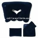 Inflatable black neck Pillow