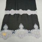 latest fashion embroidery lace fabric