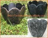 Flower shape design plant pot