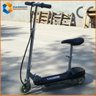 100W kids electric scooters with seats