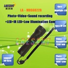LED Flashlight 2MP HD Digtal Camera PC CAM Low Illumination Cam IR LED Flashlight Camera Support 32g TF Card MDS6822B