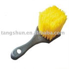 Car wheel rim brush