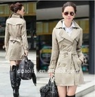 woman cotton windbreaker