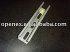 Slotted C channel, steel strut, metal keel, metal frame
