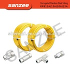 Stainless steel flexible gas line( CSST gas line)