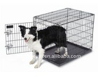Steel wire dog cage
