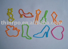 2011 hot sell silicone rubber shape bandz