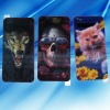 High quality Back 3D Dynamic screen Protector Screen Guard film for iphone