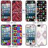 for iphone 5 PVC skin sticker (SZSK-IP181-184)