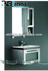 304 stainless steel bathroom cabinet LL3