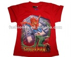 Boy's short sleeve Spider Man t shirts