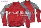 cycling jackets, cycling wear, reflective fabric jackets