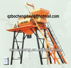 1500L Civil construction Double Horizontal Shaft Compulsive Concrete Mixer JS1500
