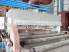 Preheating chamber for steel plate pretreatment line