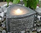 Stone garden decorative floating water lanterns