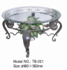 Wrought Iron Table (Metal Table, Coffee Table)
