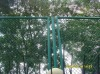 PVC coated cyclone fence