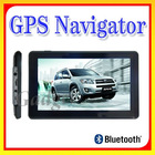 "7.0"" GPS Navigation FM MP3/4 FREE MAP 4GB With AV Bluetooth"