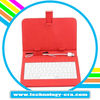 Hot sale!colorful keyboard leather case for 7inch tablet pc