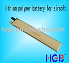 lithium polymer battery for airsoft gun 5020100 850mAh 3.7V