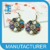 latest beatiful flower earrings,new style with high quality