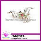 Phoenix totem light colorful rhinestone brooch pins