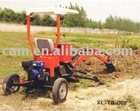 BH-002 Towable Backhoe with Gasoline Engine