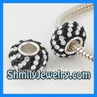 Rhinestone Crystal Rondelle Spacer Beads BSCS30