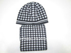 Fashion Boy knitted hat and scarf