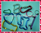 all kinds of metal carabiner