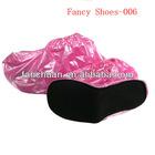 2013 fashion pvc rain shoe covers, lady shoe