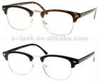 Unworn Original Vintage Half Frame Clubmasters Glasses ,Optical Frame, Spectacle Frame