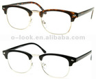Unworn Original Vintage Half Frame Clubmasters Glasses ,Optical Frame, Spectacle Frame