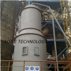 removable vertical pulverized coal furnace